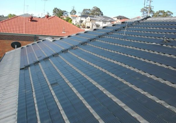 Strip solar heating solutions
